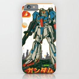 Z Gundam Retro iPhone Case