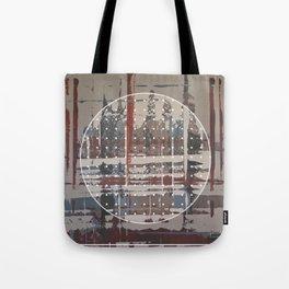 Waterlogged - dot graphic Tote Bag