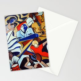 The Blue Piano Stationery Cards