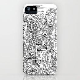 Doodles iPhone Case