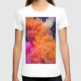 abstract art artistic rainbow T-shirt