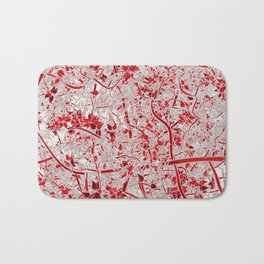 Welcome to the Jungle RED Bath Mat