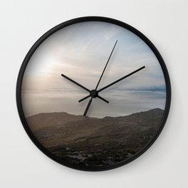Sunrise Overdrive Wall Clock