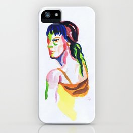 Liquid Veins iPhone Case