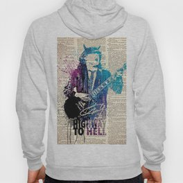 Higway to hell - on dictionary page Hoody