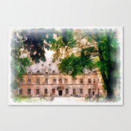 CHATEAU DE CHIMAY Canvas Print
