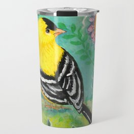 Goldfinch by Robynne Travel Mug