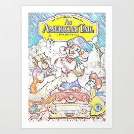 An American Tail Art Print