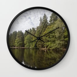 Summer Reflections - 3 Wall Clock