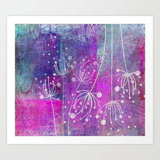 pink dream Art Print
