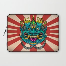 Justice Barong Mask Laptop Sleeve
