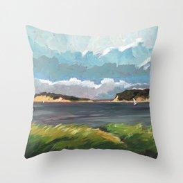 Wells Fleet Cape Cod Throw Pillow