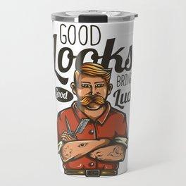 Good Looks - Good Luck Travel Mug