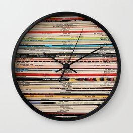 Blue Note Jazz Vinyl Records Wall Clock
