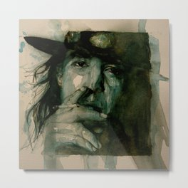 Stevie Ray Vaughan Metal Print