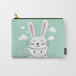Take a Cup of Bunny Carry-All Pouch