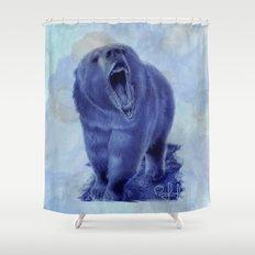 So bear your teeth Shower Curtain
