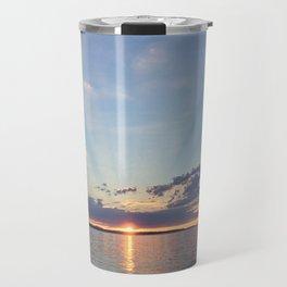 A Seattle Sunset Travel Mug