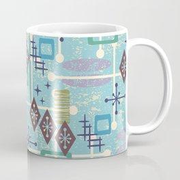 Retro Mid Century Modern Atomic Abstract Pattern 245 Coffee Mug