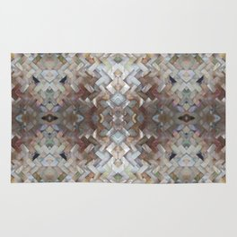 Nacrous Modern Pattern Rug
