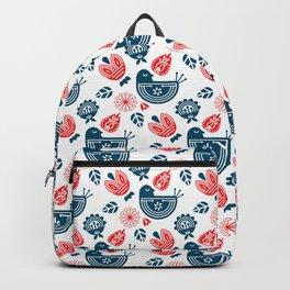 Hygge Pattern Backpack