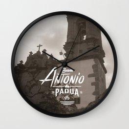 San Antonio de Padua II Wall Clock