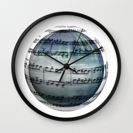 Music is My World Wall Clock