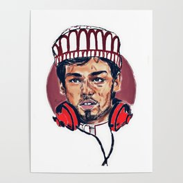 Omani Character (Yasser) Poster