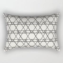 lines crayon-ivory Rectangular Pillow