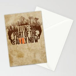 You're Part of the Family Now Stationery Cards