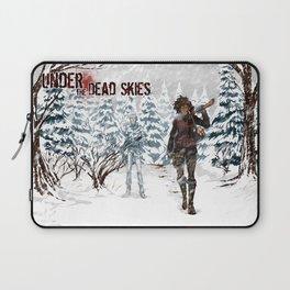 Under the Dead Skies - Snow Laptop Sleeve