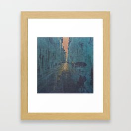 Memory, you have the key I Framed Art Print