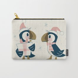 Puffins & Presents Carry-All Pouch