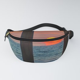 The Melting Sun Fanny Pack