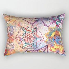 Hindu Geo Psych Rectangular Pillow