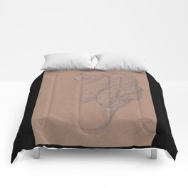 Specimen #68c (carnival) Comforters