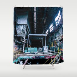 Abandoned Asylum I Shower Curtain