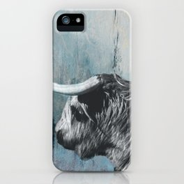 Highland Bull iPhone Case