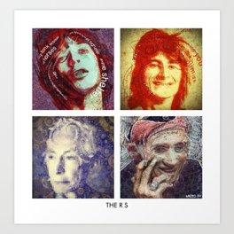 THE R_S Art Print