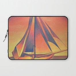 Sienna Sails at Sunset Laptop Sleeve