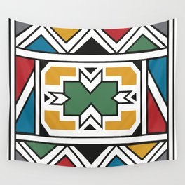 African Tribal Pattern No. 166 Wall Tapestry