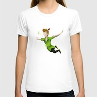 peter pan T-shirts featuring Peter Pan by JackEmmett