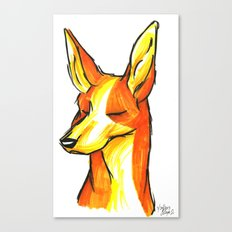 Brush Breeds-Ibizan Hound Canvas Print