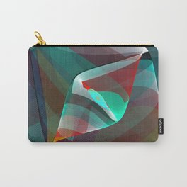 Visual impact, modern fractal abstract Carry-All Pouch