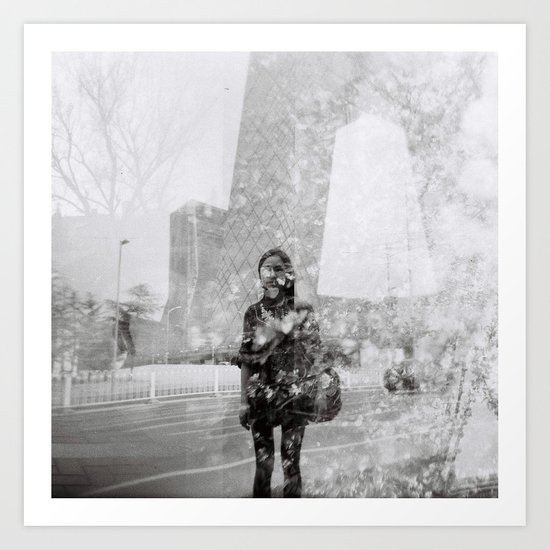 Memoirs of Beijing Art Print