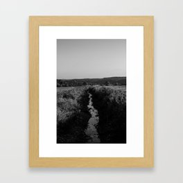 The Seasonal Path Framed Art Print