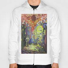 Loneliness under the street light Hoody