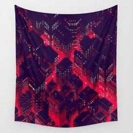 Night Life Wall Tapestry