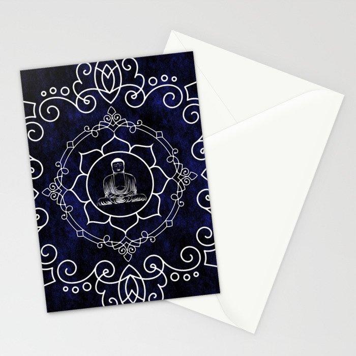 Buddha Lotus Mandala Stationery Cards