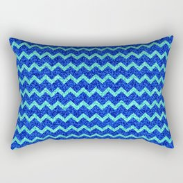 Chevron Glitter Pattern 06 Rectangular Pillow